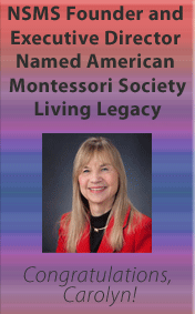 Founder awarded Living Legacy by American Montessori Society