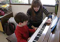 math classes, piano lessons, art classes, science, and more